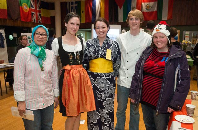 CSU families enjoy World Unity Day in the Lory Student Center. November 10, 2012