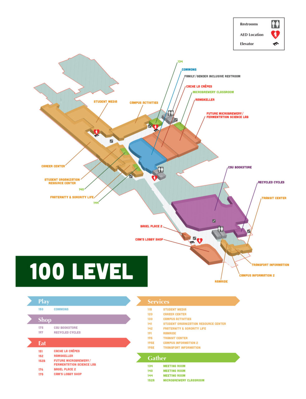 lsc-building-map-level-100