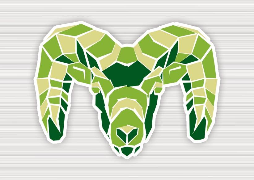 Ram Head Graphic