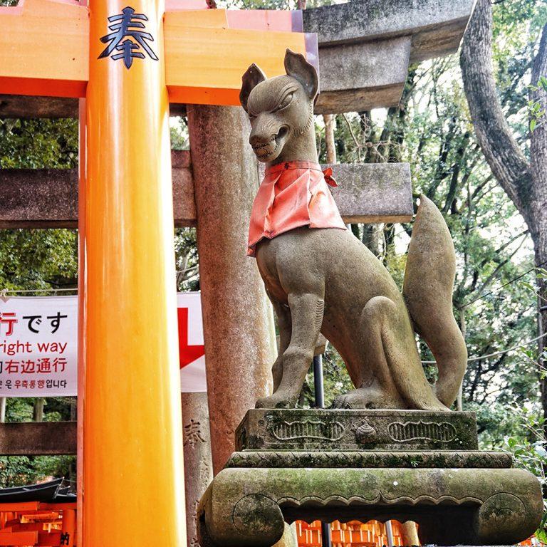 Inari Fox Inari Messenger Statue