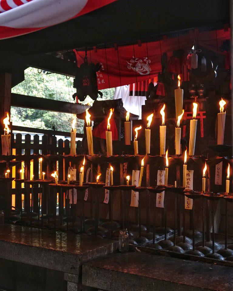Inari Prayer Candlea