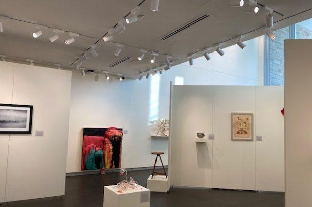 LSC arts exhibit area
