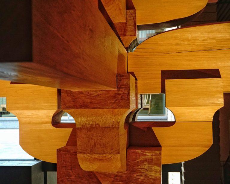 Takenaka Temple Joinery Detail