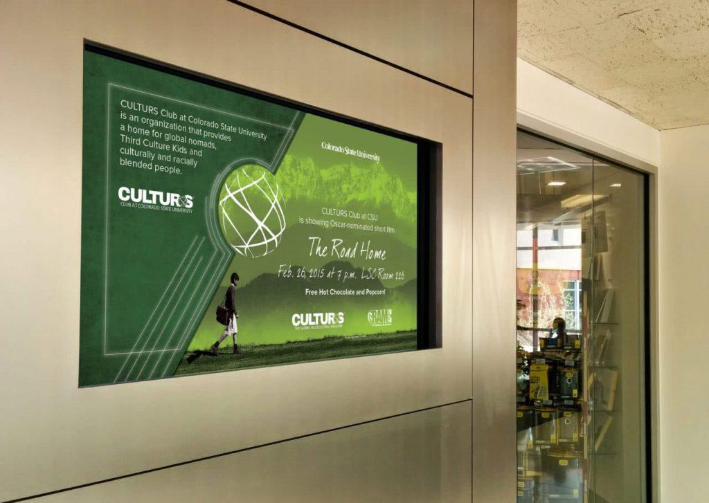 Indoor Display Ad Large