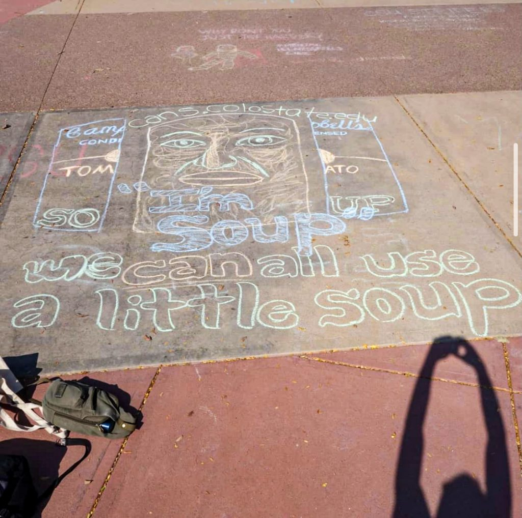Cans Chalking Act Of Kindness 50547778673 O